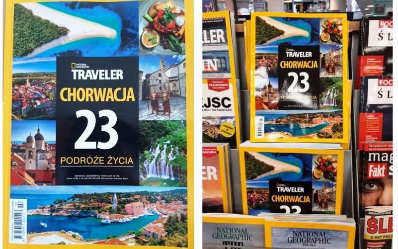 Poljski National Geographic Traveler u potpunosti posvećen Hrvatskoj