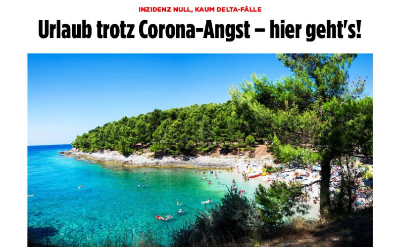 Die Zeit i Bild pišu o Hrvatskoj kao sigurnoj turističkoj destinaciji